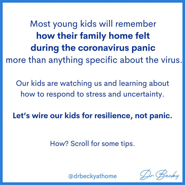 resilience, not panic