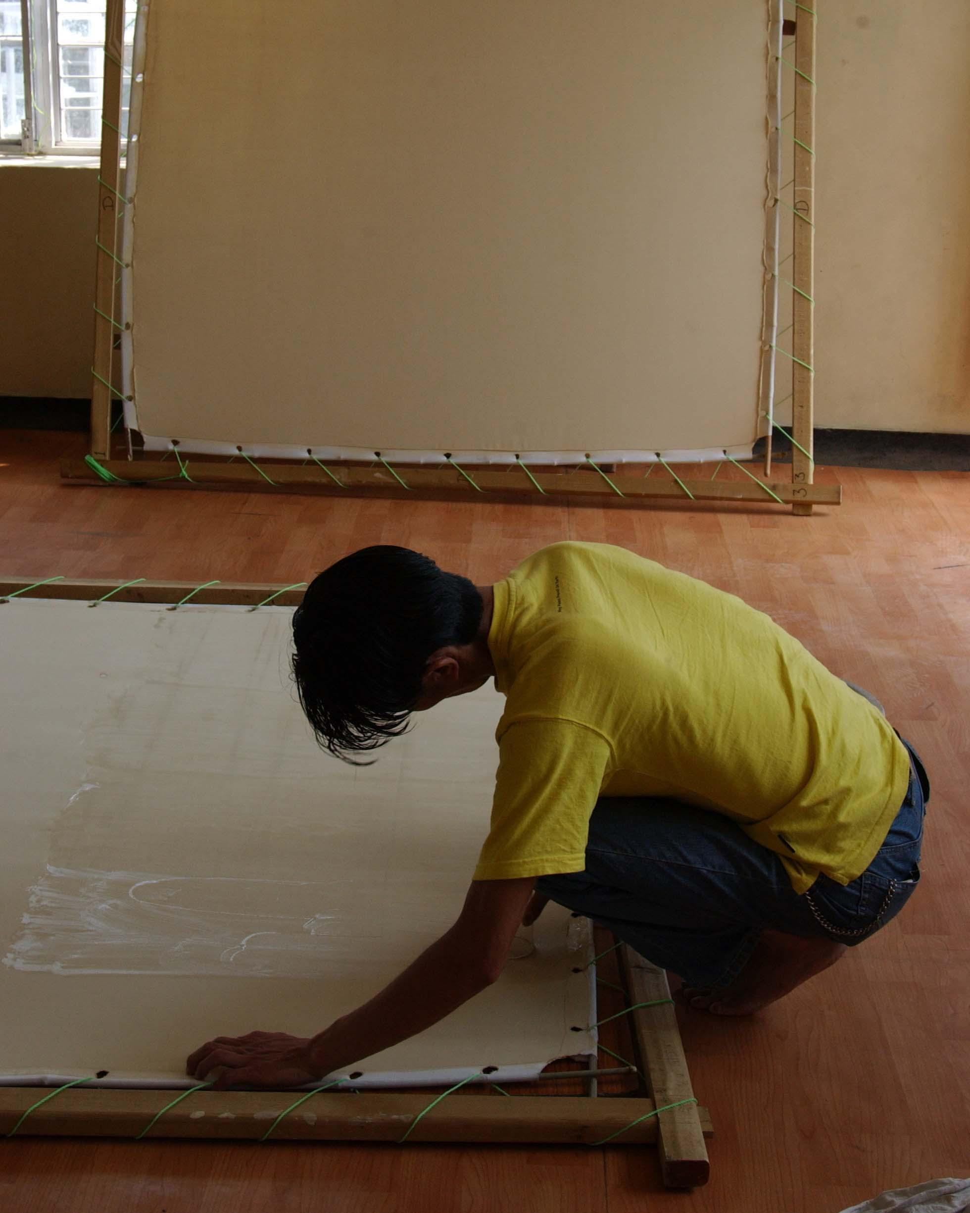A Thangka Painter