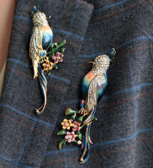 Серебряные попугайчики CoroCraft