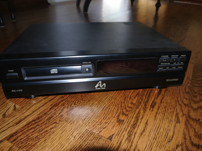 Audio Note CD2 Tube Output CD Player