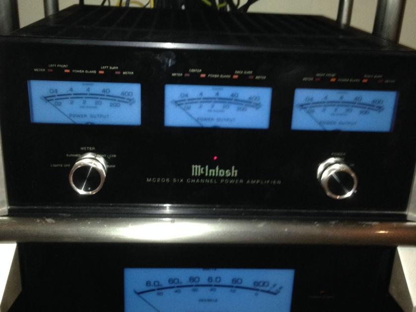 McIntosh MC-206 Multi-Channel Amplifier