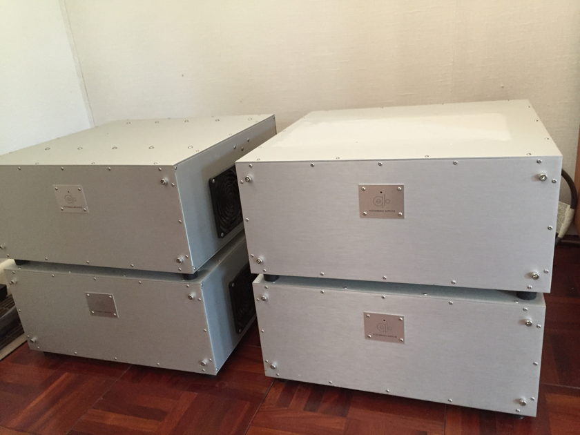 Cello Performance II Mono Amplifiers - 4 chassis