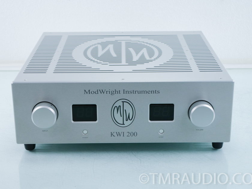 Modwright KWI-200 Integrated Amplifier (9885)