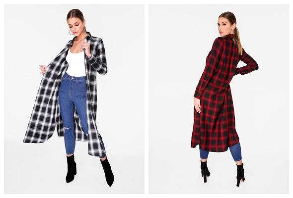 Flannel Cowboy Duster