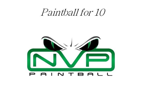 Paintball for 10