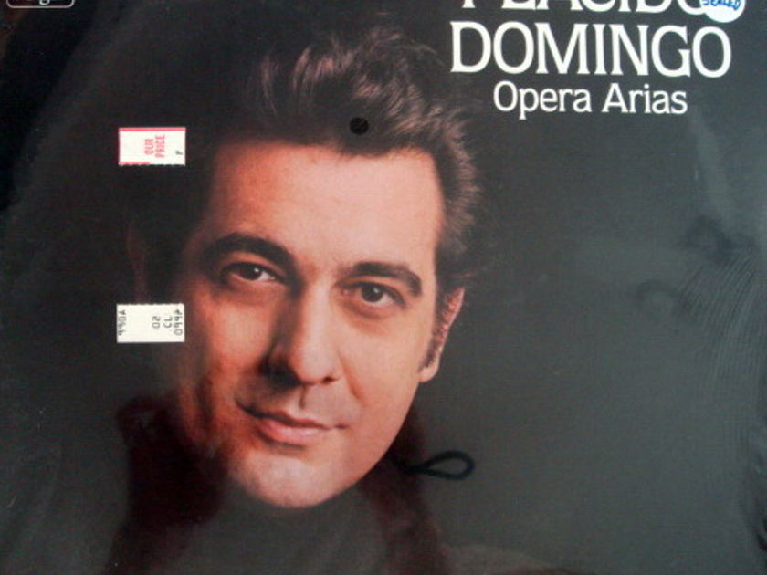 ★Sealed★ EMI Angel / - PLACIDO DOMINGO sings Opera Arias!