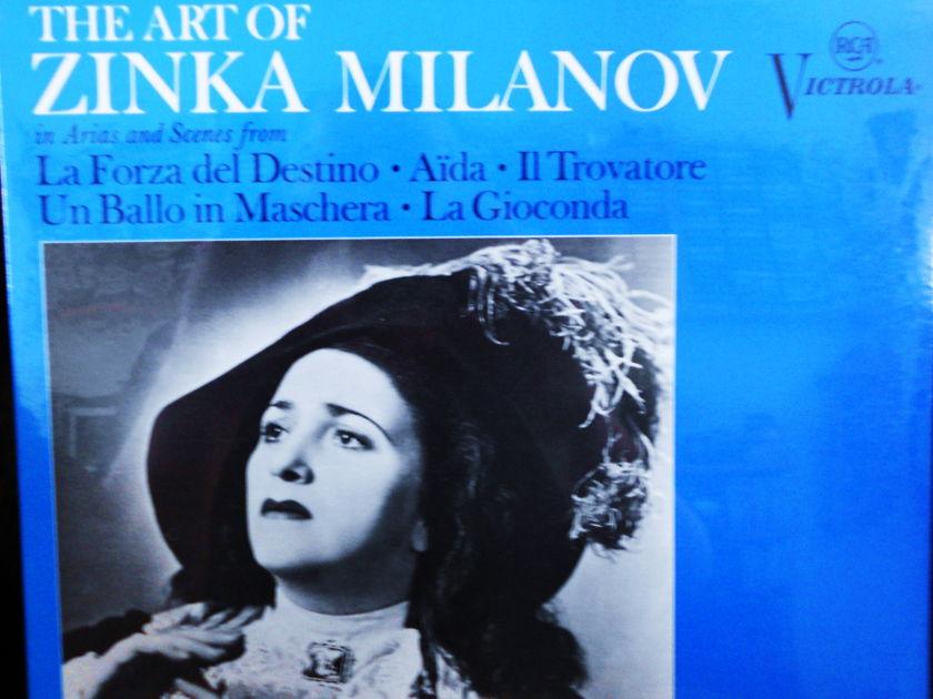 FACTORY SEALED ~ ZINKA MILANOV  - ART OF ZINKA MILANOV~ARIAS AND SCENES RCA VICS 1336(e) (1968)