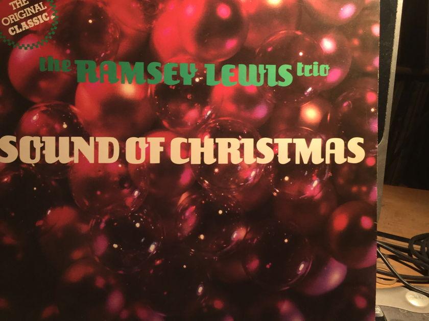 THE RAMSEY LEWIS TRIO - SOUNDS OF CHRISTMAS CHRISTMAS