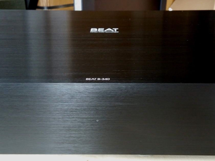 Densen Audio B-340 (4 Ch.) 60 Watt Power Amplifier DEMO (Finish: Black)