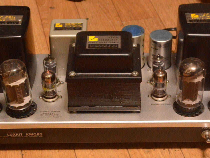 Luxman  MQ-60 stereo tube amplifier OY series output transformer * VG+++