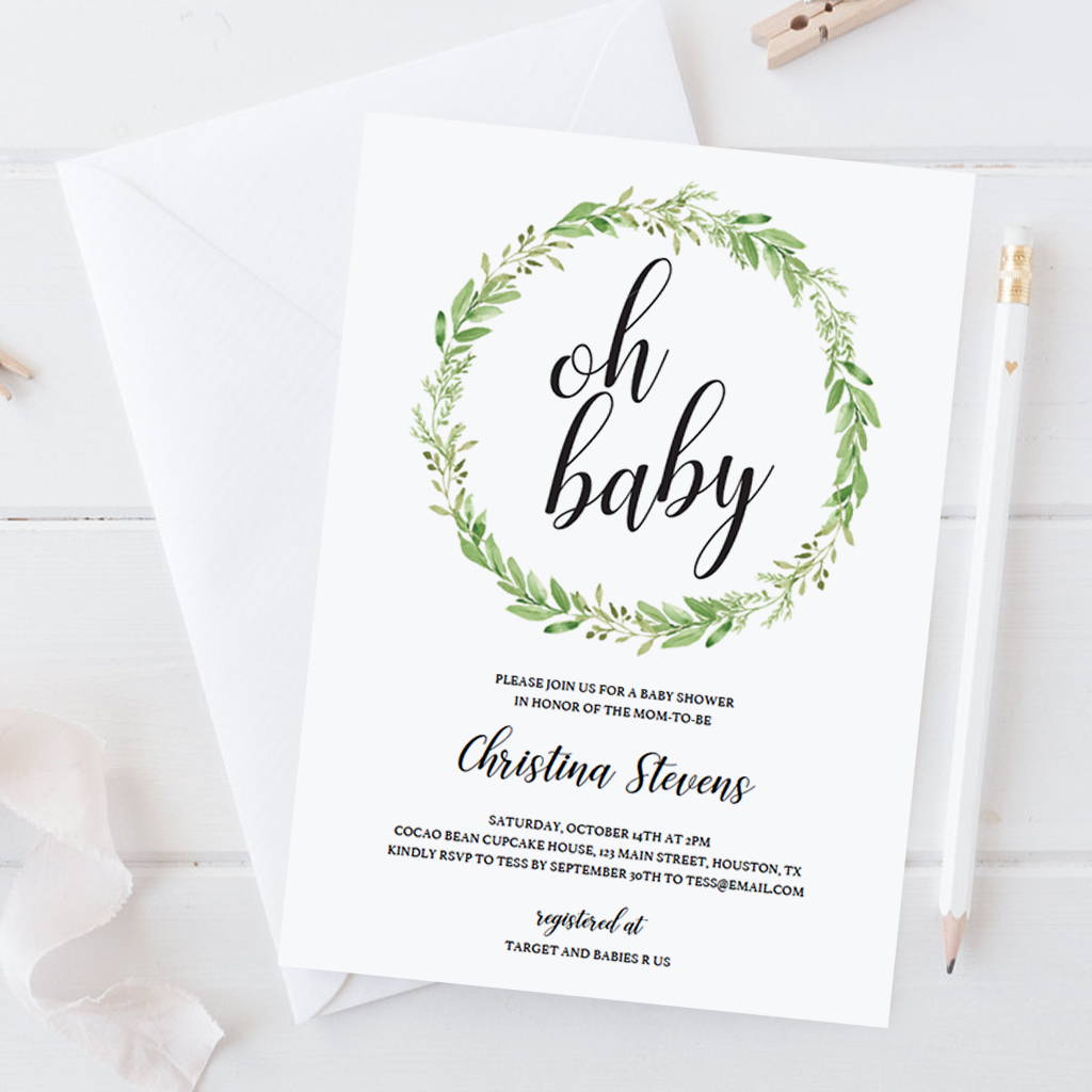 Are You Planning A Baby Shower And Donu0027t Want To Waste Your Time And Money  On An Expensive Designer To Create The Baby Shower Invitations For You?