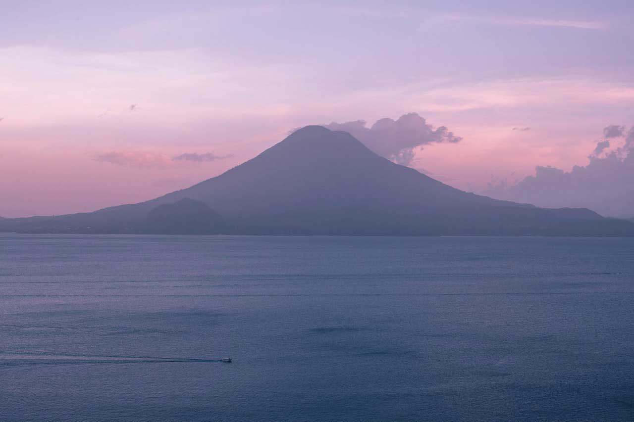 BeanBear Guatemala volcano