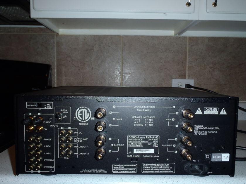 Denon PMA-A100  100th Anniv integrated amp