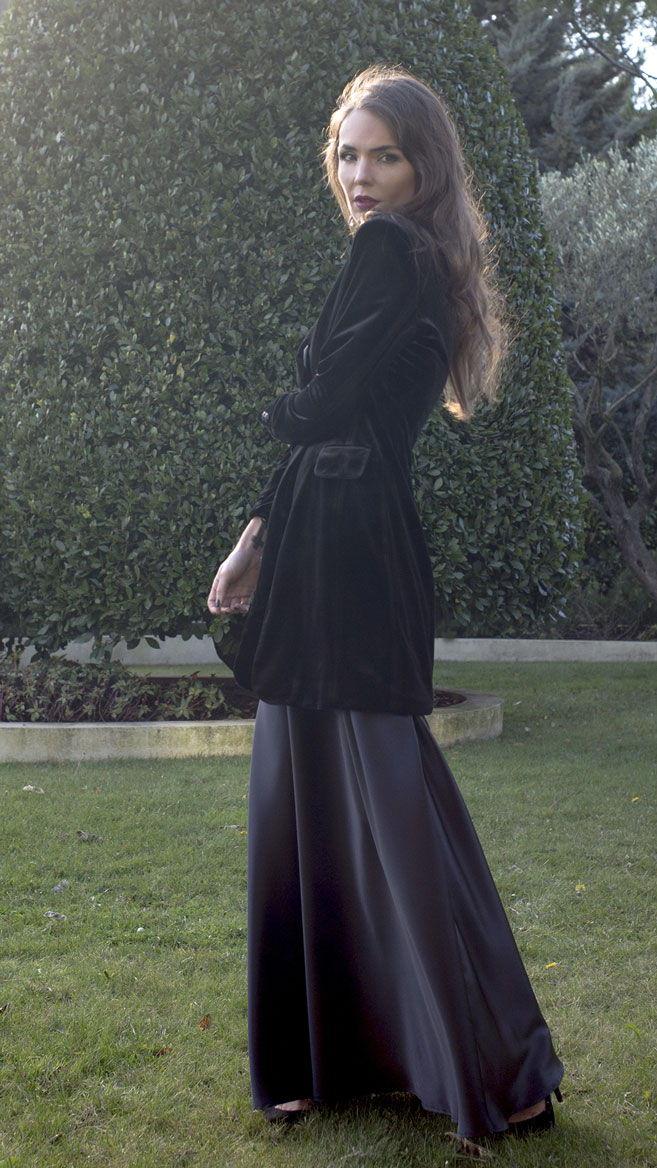 Смокинг-пальто Black Velvet