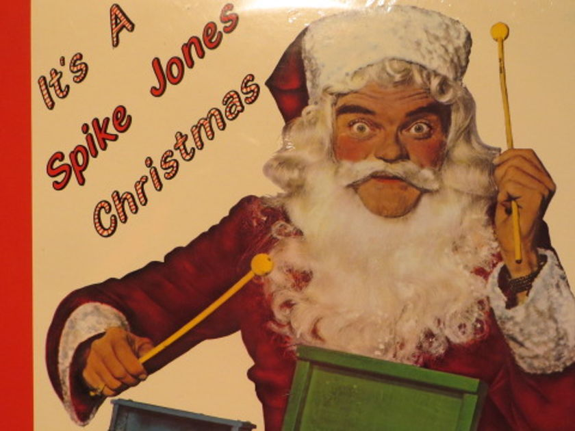 SPIKE JONES - IT'S A SPIKE JONES CHRISTMAS CHRISTMAS SEALED