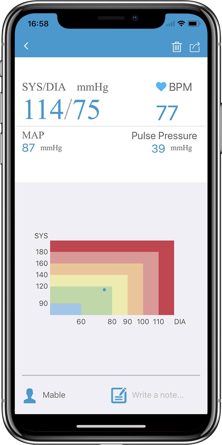 wellue airbp blood pressure app 2