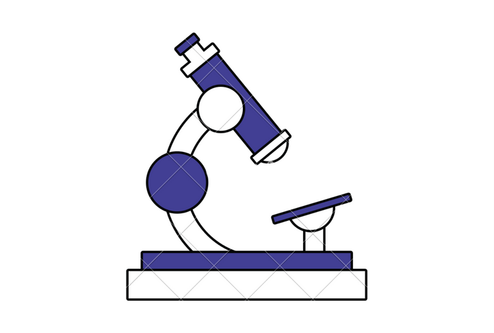 Microscope for blood analysis