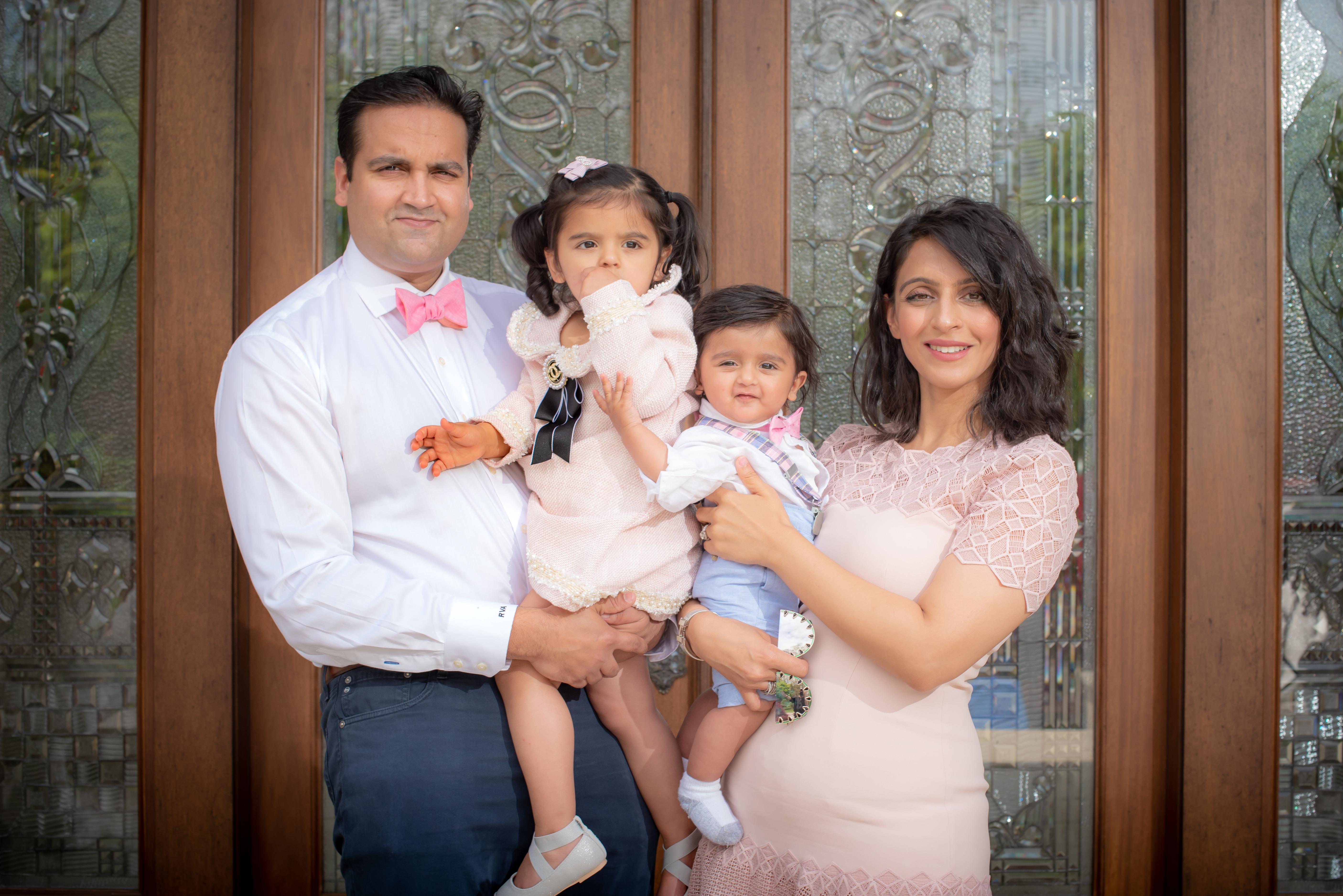 Shveta and Rahul Alreja