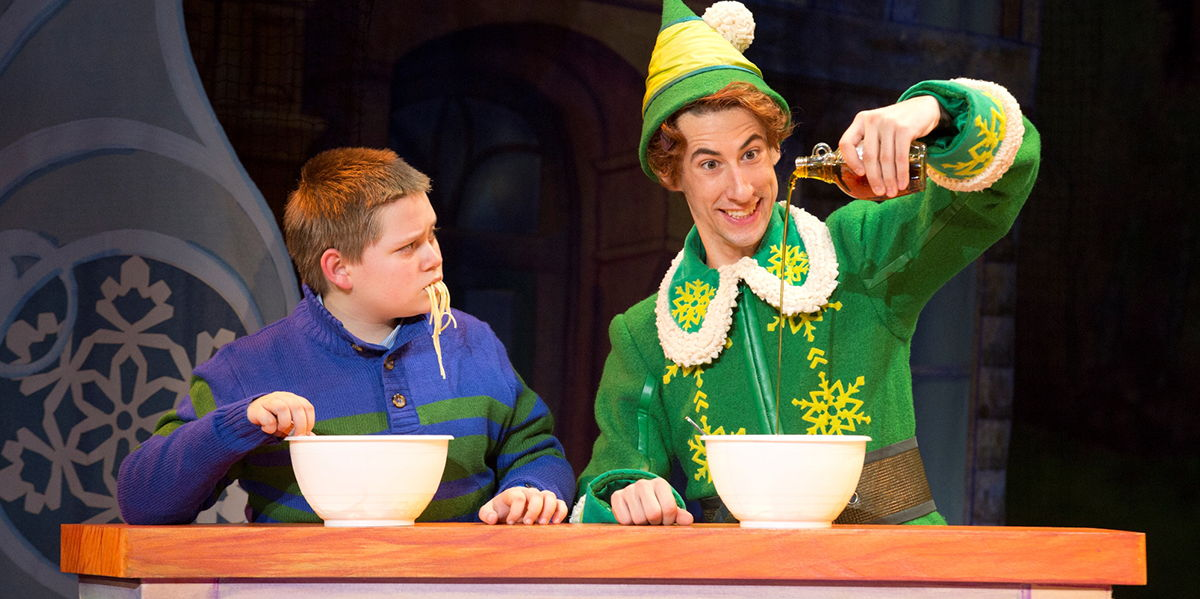 ELF The Musical at the Shubert Theatre