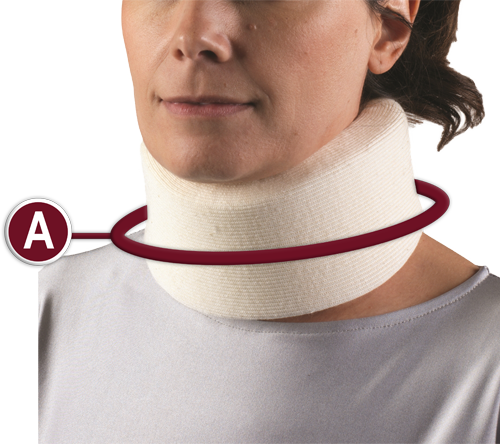 FOAM CERVICAL COLLAR Location