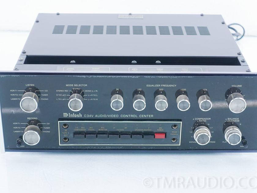 McIntosh C34V Audio Video Control Center (9405)