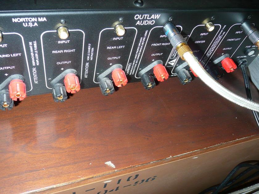 Outlaw 7100 7 Ch. Amplifier Model 7100
