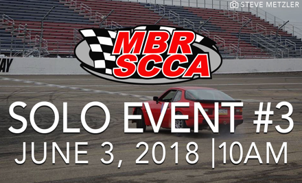 MBR SCCA Event #3 2018