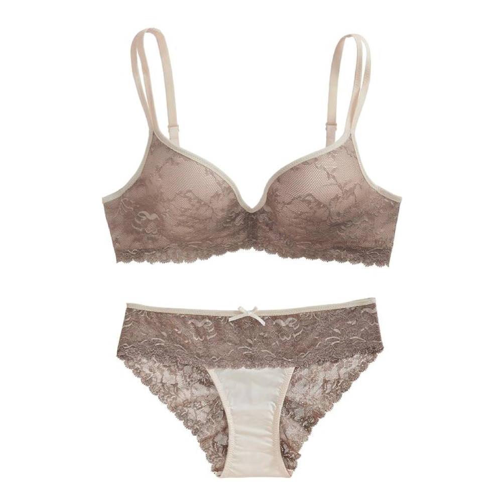 The little bra company kymber lace push up bra set