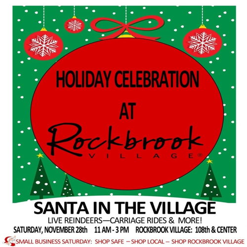 Picture of Shop Small Business Saturday and Celebrate the Holidays with Rockbrook Village