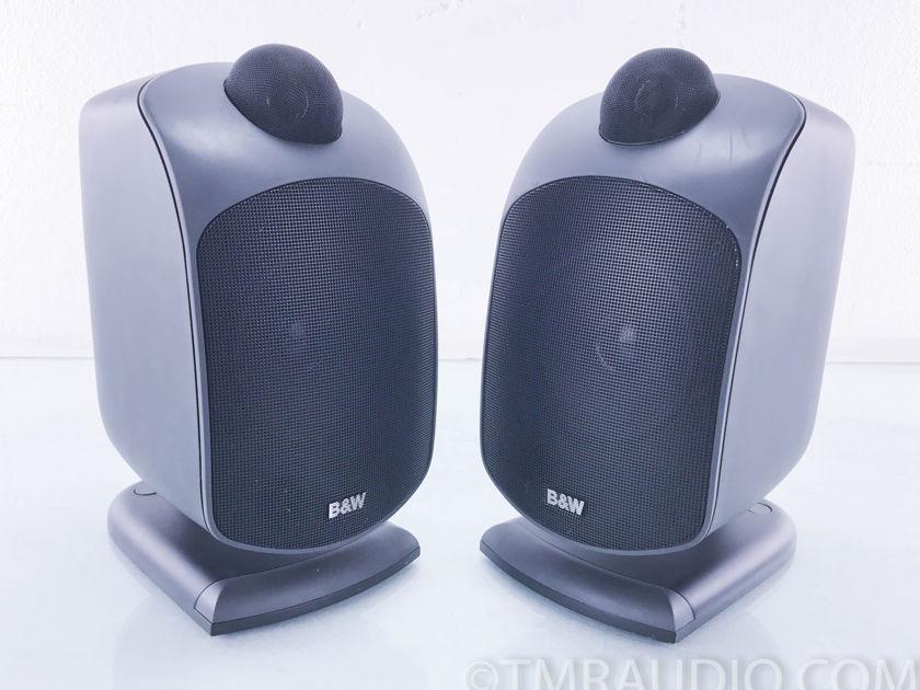B&W LM1 Wall Mount Satellite Speakers;  Black; Pair (10121)