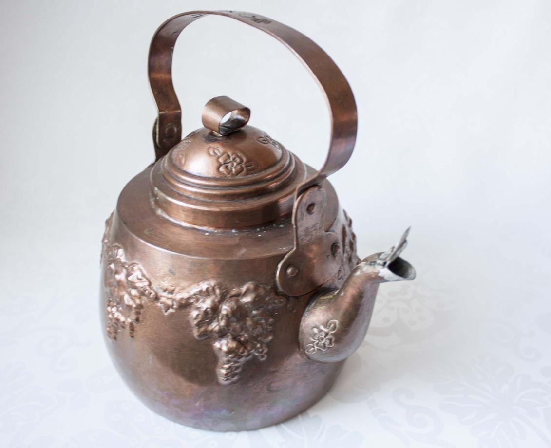 Медный чайник, Скандинавия, начало 20 века