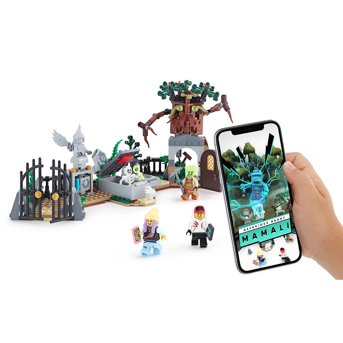 LEGO Graveyard Mystery
