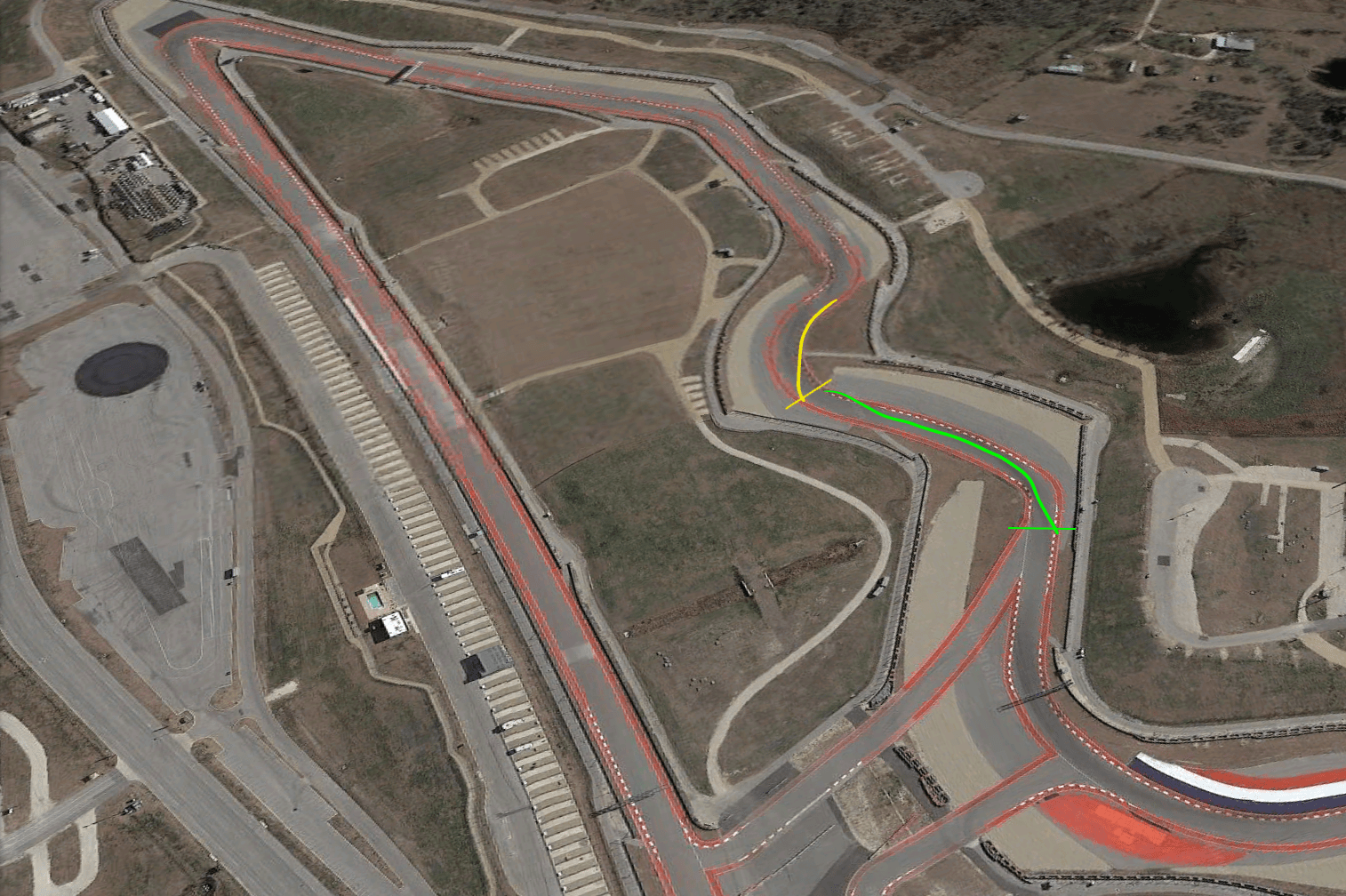 turn 7 and 8 at COTA