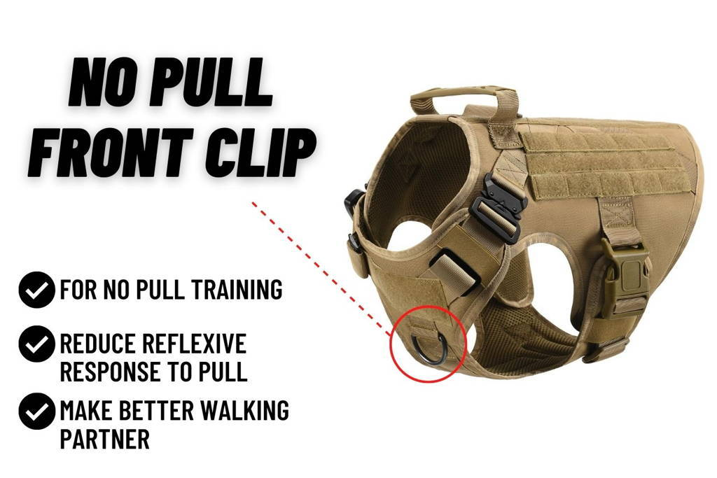 no pull tactical harness