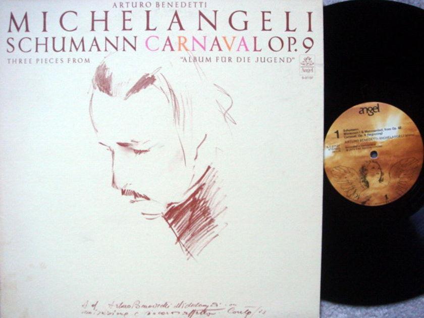 EMI Angel / MICHELANGELI, - Schumann Carnavel,  MINT!