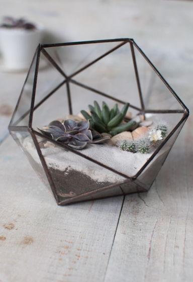 Флорариум геометрический пятиугольный