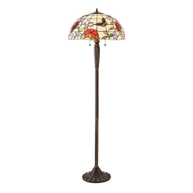 butterfly tiffany lamp