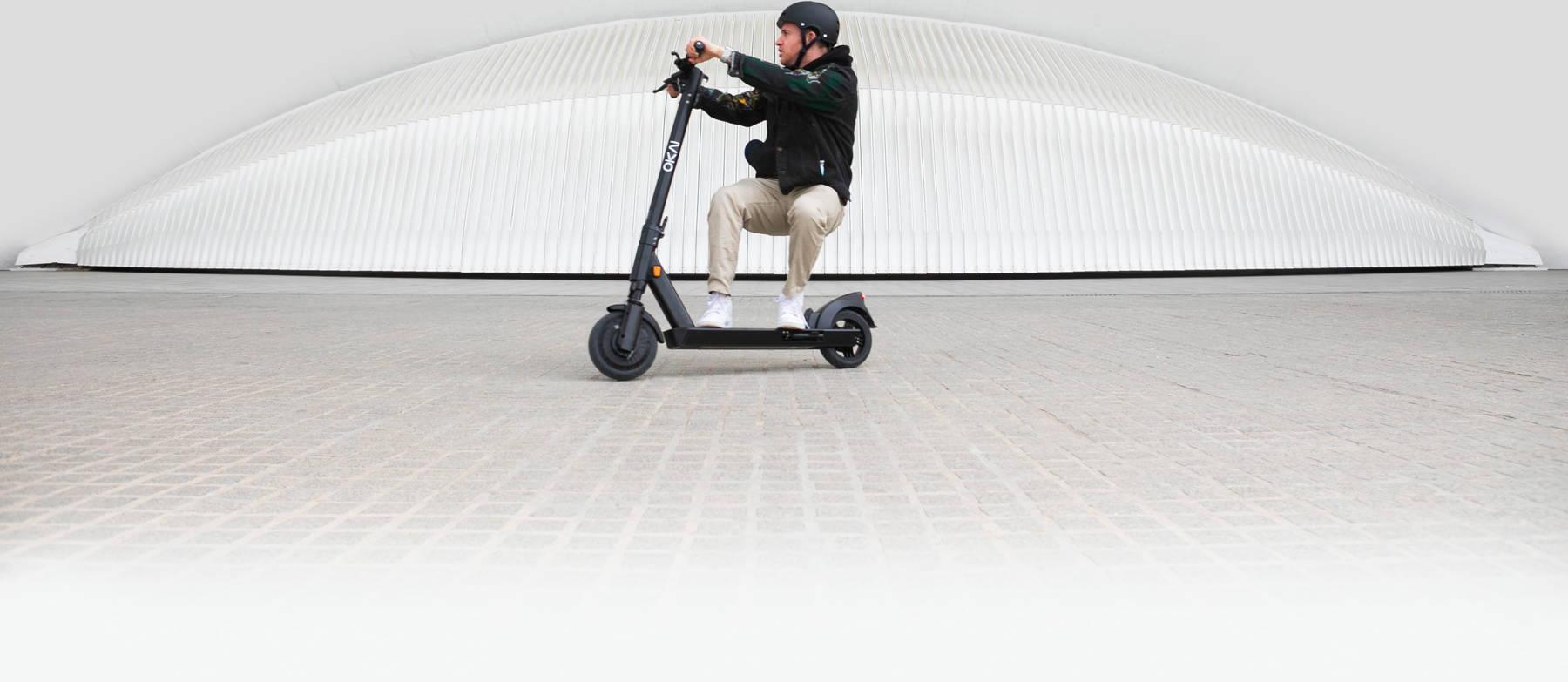 Okai-es200-electric-scooter-hero