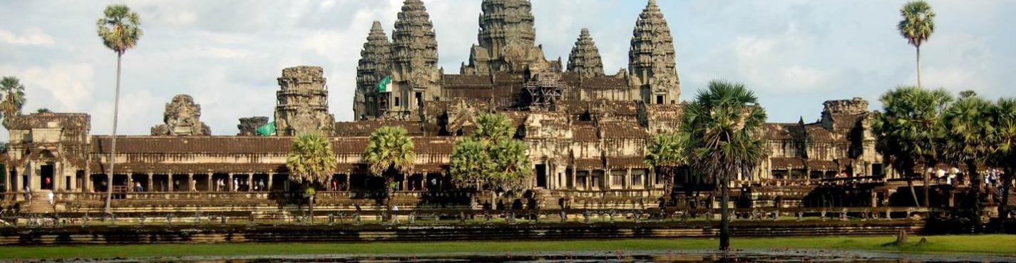Большой круг храмового комплекса Ангкор