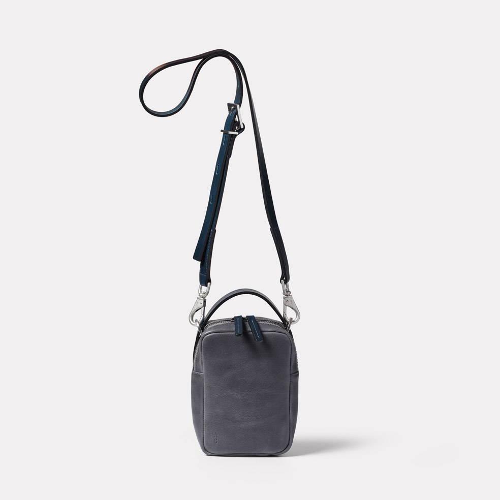 Ally Capellino Hurley Calvert Leather Crossbody Bag in Dark Skies