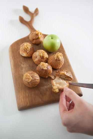 Профитроли «Тарт-татен» - карамель-печёное яблоко» 🍎 , от 6 шт