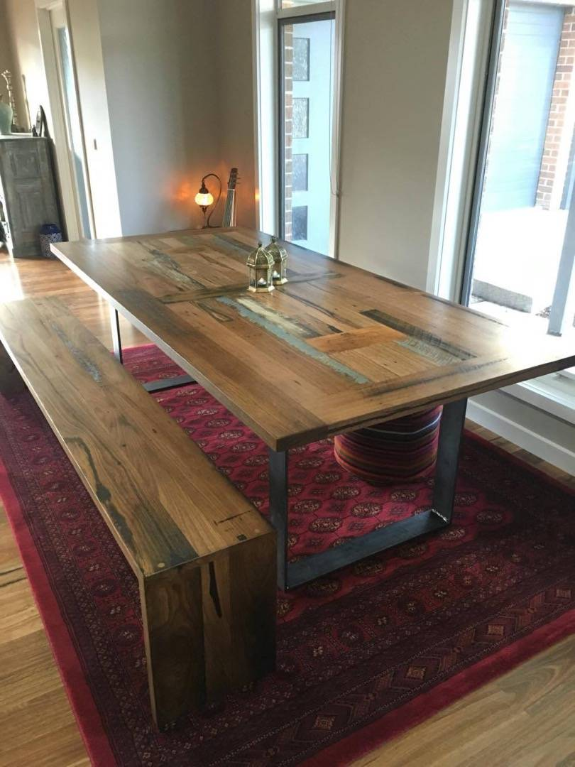 Timber Dining Tables & Timber Benches