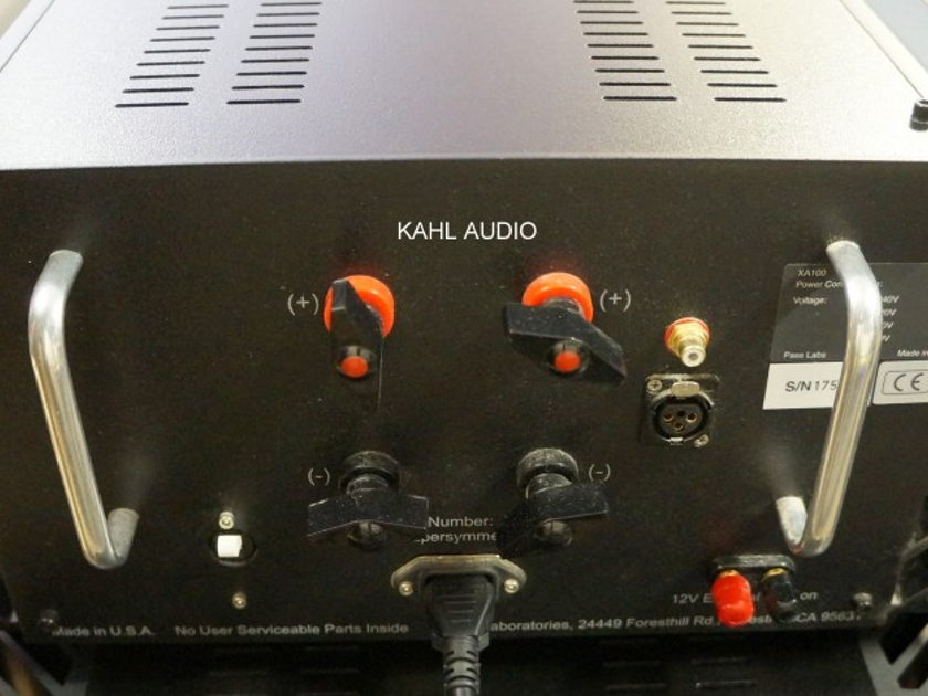Pass Labs XA100 Class A monoblock amps. Absolute Sound Recommended. $13,000