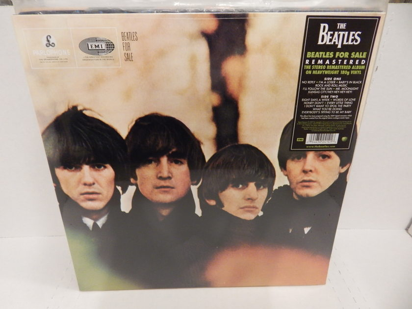 THE BEATLES 'Beatles For Sale' - 180 Gram Heavy Weight Brand New Factory Sealed & Sticker MINT LP