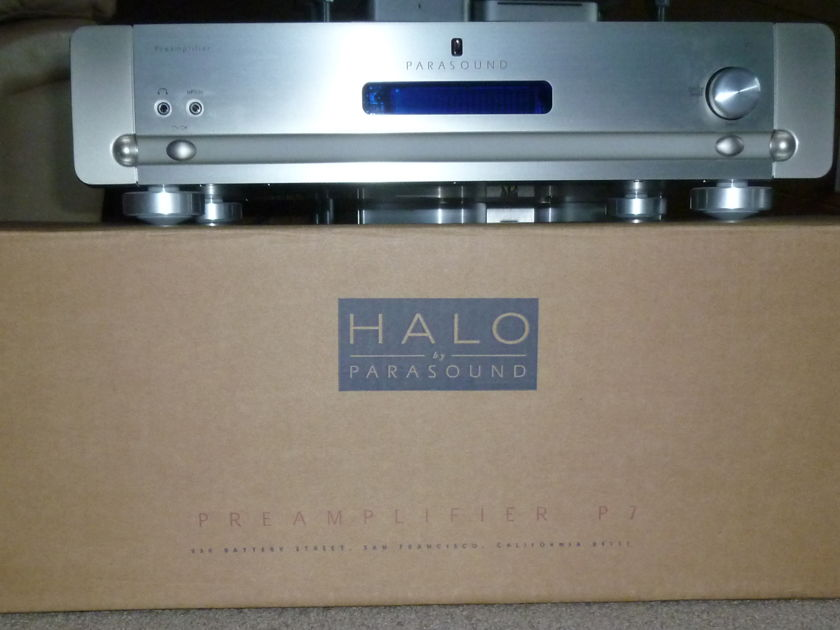 Parasound Halo P-7 7.1 Channel Analog Preamp