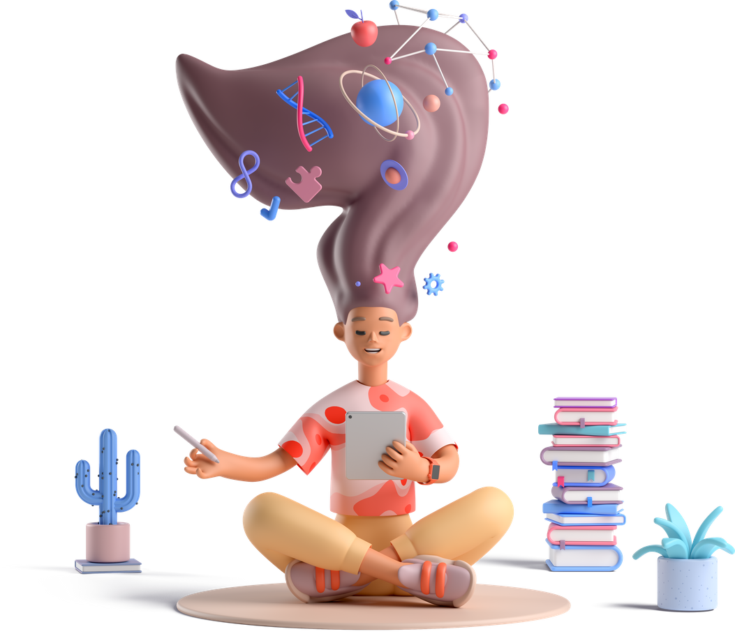 Casual life 3d meditation