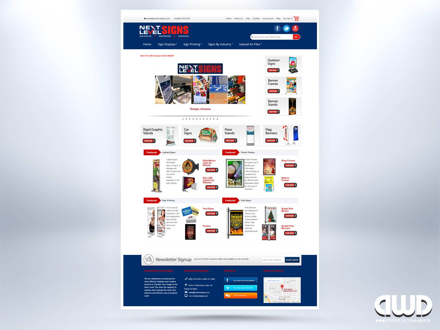 Ecommerce Web Store Design Development Dwd Studio