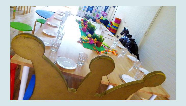 labyrinth kindermuseum geburtstags tisch