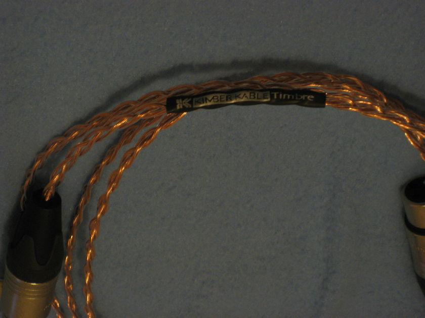 Russ Andrews Kimber  'Timbre' Balanced XLR  Interconnect Cables [PAIR] (1 meter)