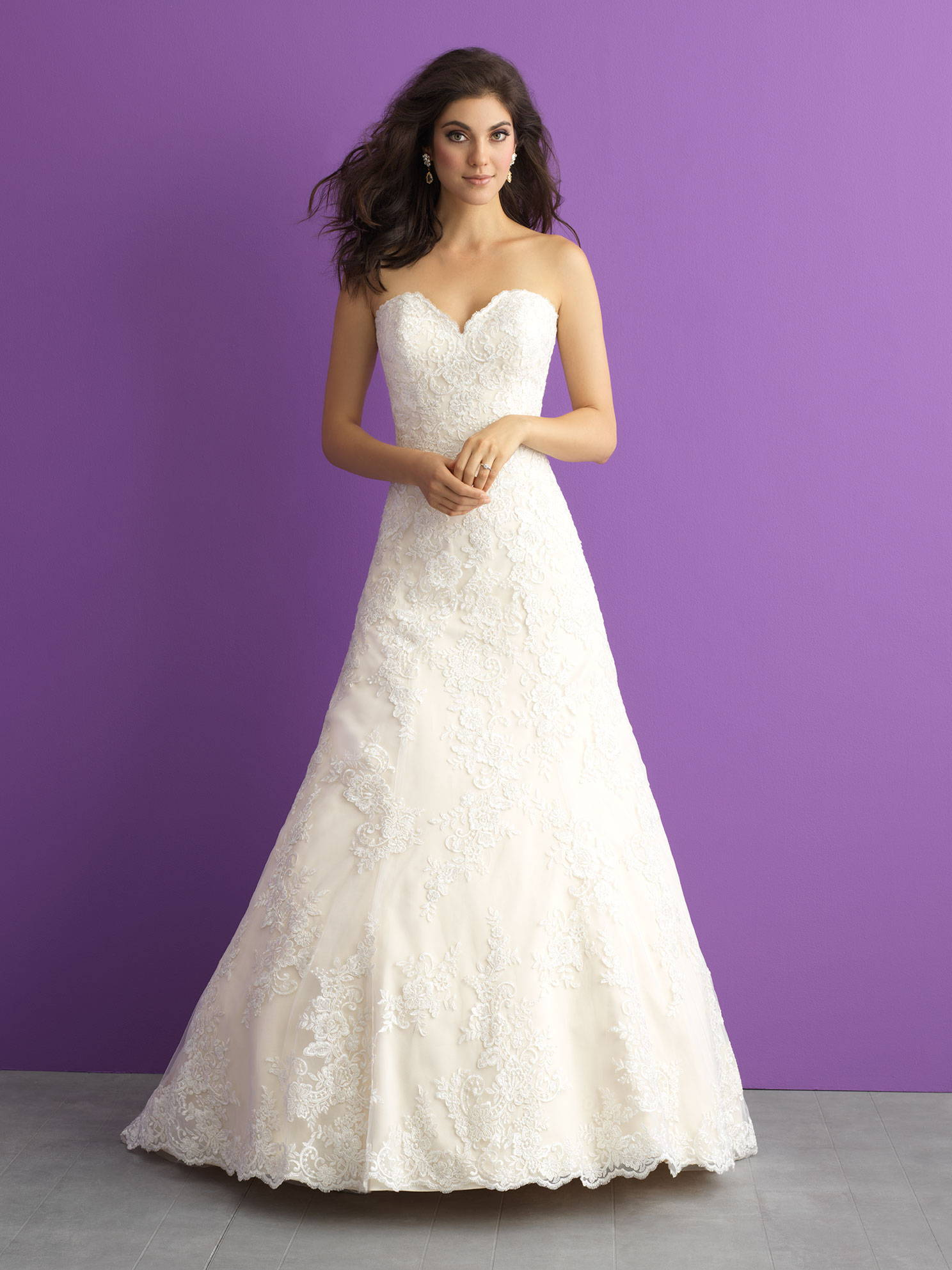 ALLURE  WEDDING DRESS 3012